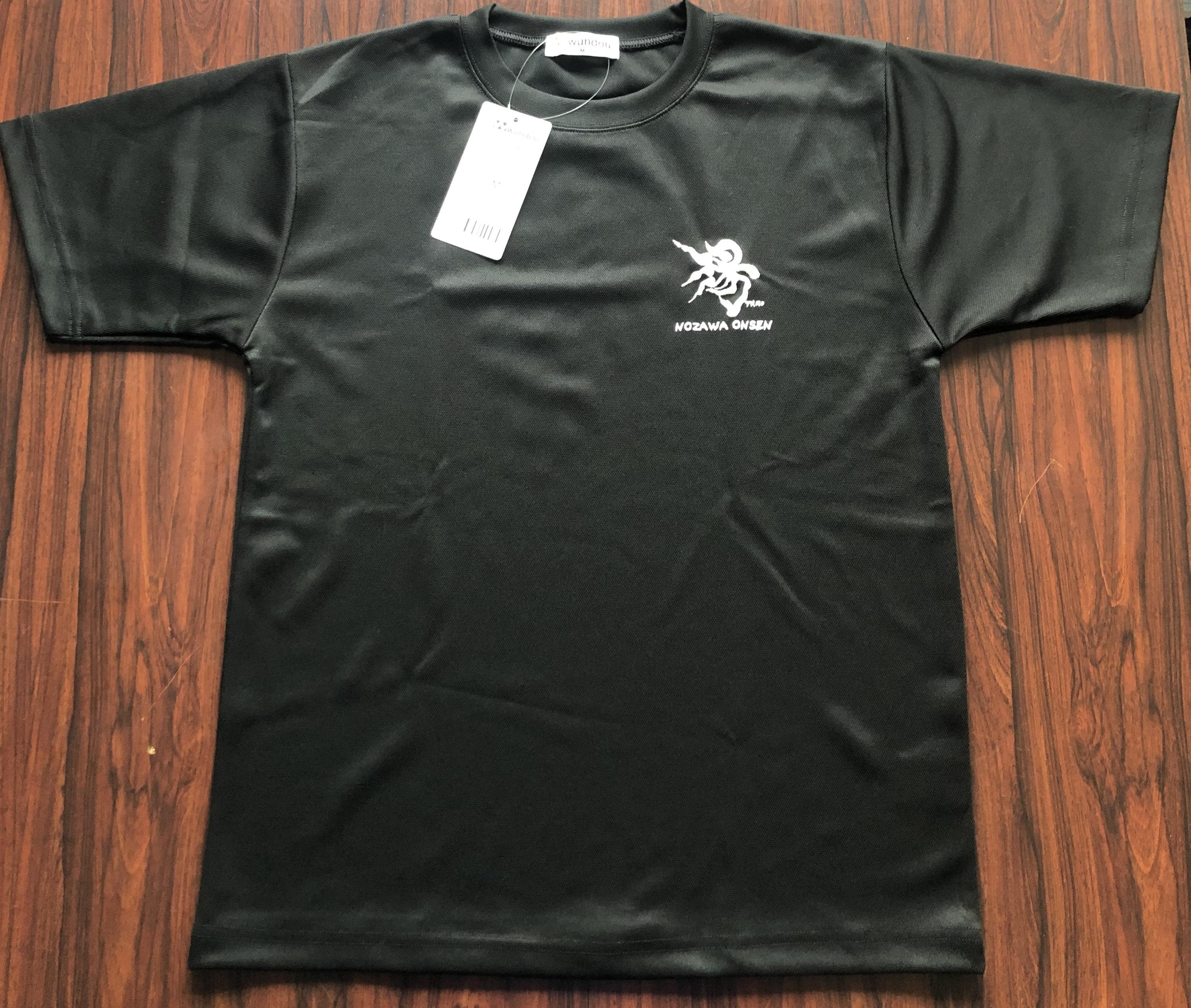 湯Tシャツ黒M