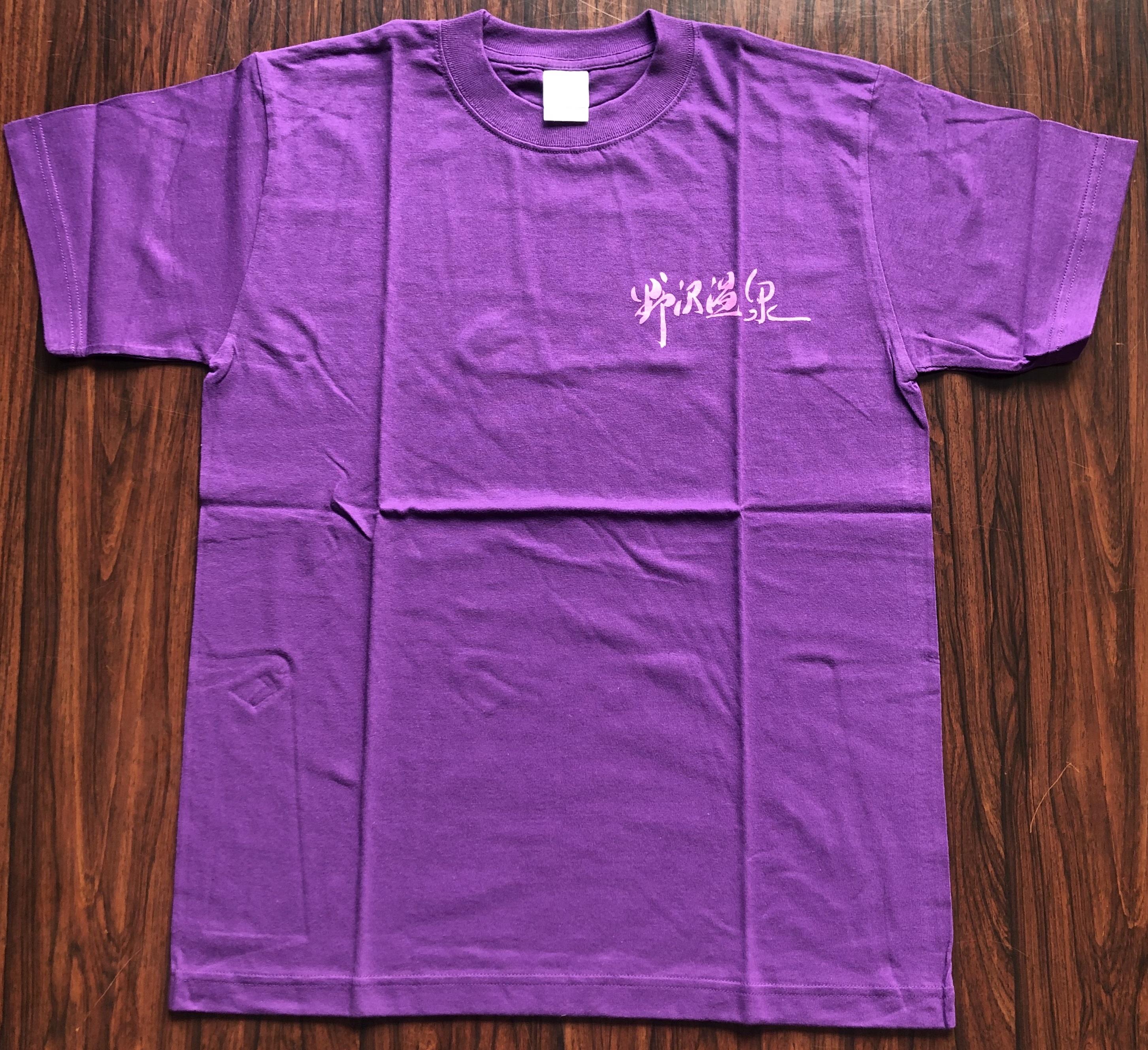 道祖神Tシャツ紫